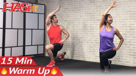 min warm  exercises  workout hasfit