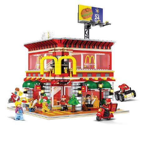 Lego Sembo Mcd By Sansipp Store mcd cafe with usb interface led light 11street