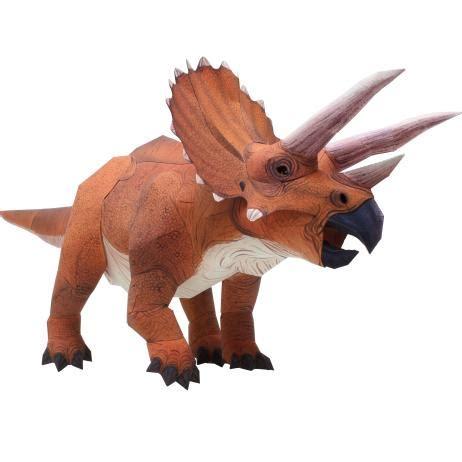 Papercraft Dinosaur - canon papercraft dinosaur triceratops ver 2 free