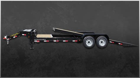 tilt bed trailers professional grade heavy duty tilt bed trailers