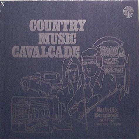 country music cs nashville country music cavalcade nashville scrapbook sealed