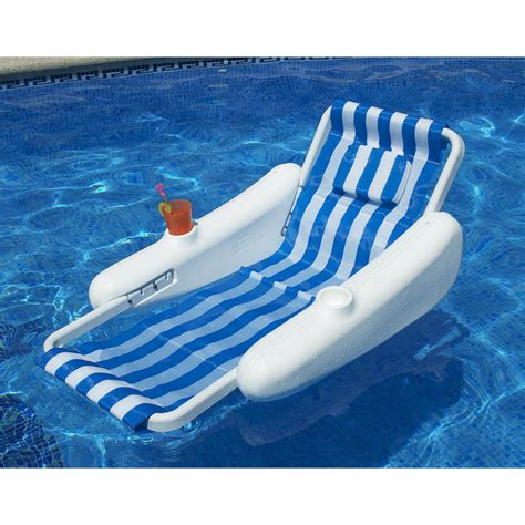 Floating Chairs For The Pool by Sunchaser Molded Float Chair Pool Supplies Canada