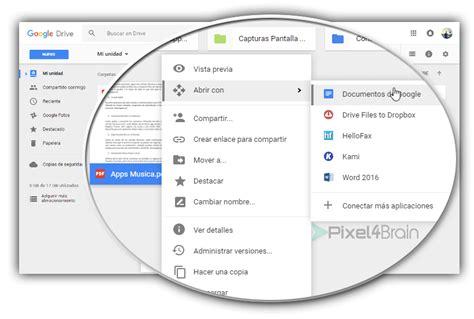 convertir imagenes a pdf free 25 trucos y consejos para dominar google drive 2017