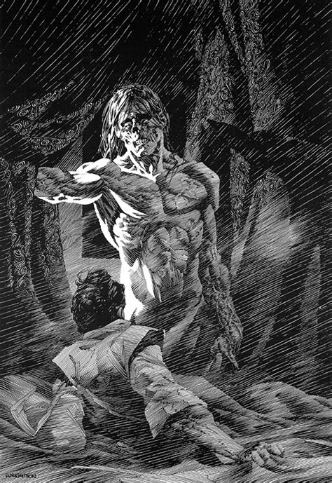 pin by joy lake on ink me very much pinterest bernie wrightson s illustrations berni wrightson book
