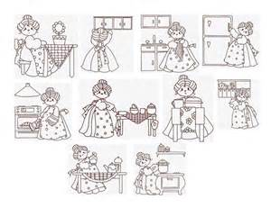 free kitchen embroidery designs vintage redwork machine embroidery designs redwork in the kitchen set of 10 size 4 x