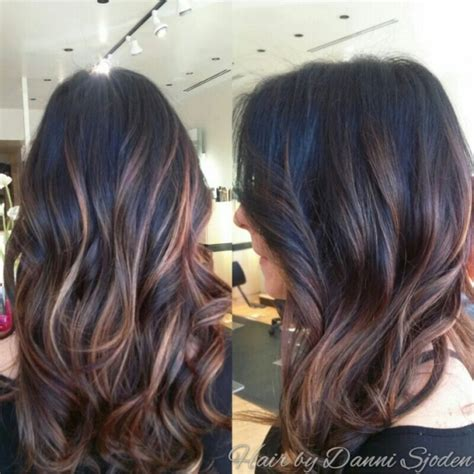 how to get ombre hair balayage american tailoring balayage highlights blending into ombre hair by danni