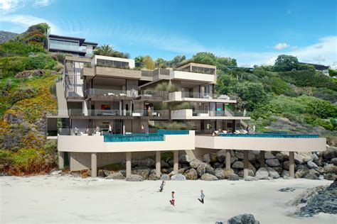 malibu houses pch malibu beach house ryan levis architect inc