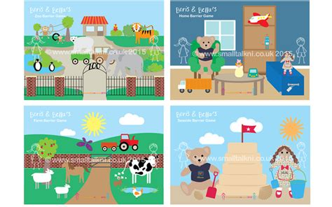 printable barrier games barrier games speech language therapists northern