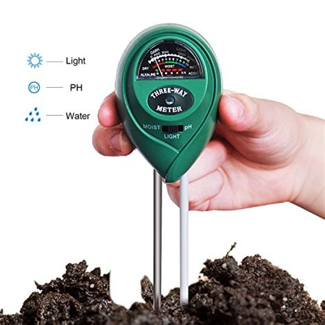Soil Ph Moisture Meter hip2cart 3 in 1 soil ph moisture meter with light ph