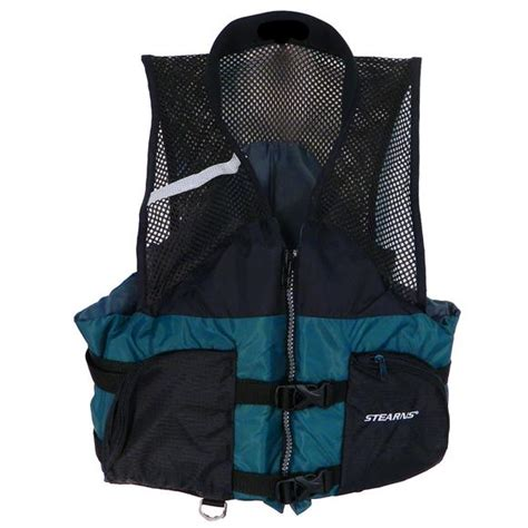 stearns comfort series life vest stearns comfort series collared anglers pfd vest