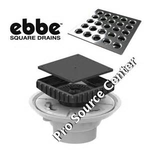 ebbe shower floor drain kit pro source center