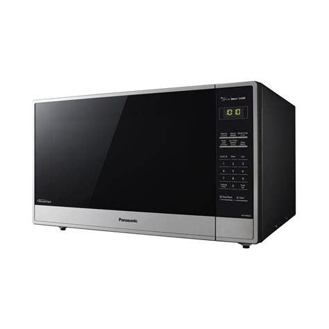 Microwave Panasonic Nn Sd681s panasonic 2 2 cu ft counterop microwave in stainlesss