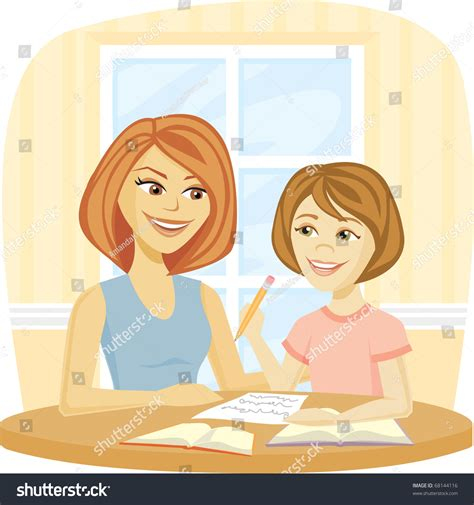 done with the help and healing for mothers of estranged children books helping homework schoolwork stock vector