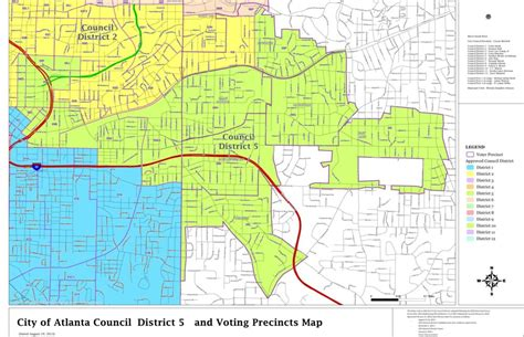 atlanta city council districts map district maps committee for a better atlanta