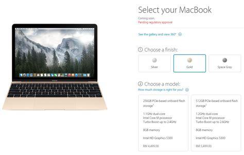 Macbook Di Malaysia apple menyenaraikan macbook 12 inci baru pada harga