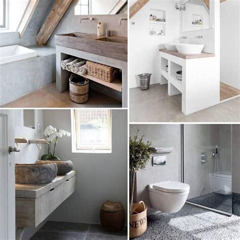 mooie natuurlijke badkamer foto mooie badkamers bewerkt met natuurlijke materialen