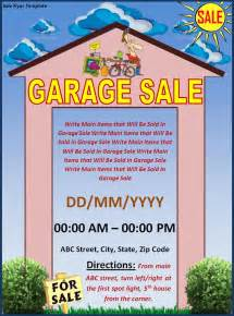 Garage Sale Flyer Template Word by Flyer Templates Free Word S Templates