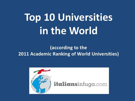 Top 10 Universities In The World For Mba In Finance by Top 10 Universities In The World