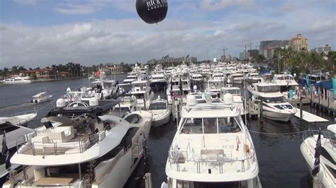 fort lauderdale boat show video 2017 fort lauderdale international boat show at the