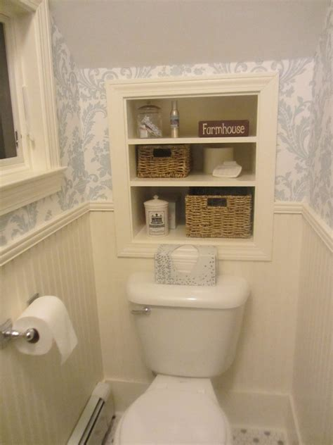under the stairs bathroom ideas before and after powder room modern life in an antique