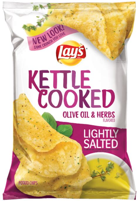 Blueduck Potato Chips lay s 174 kettle cooked lightly salted olive herbs flavored potato chips