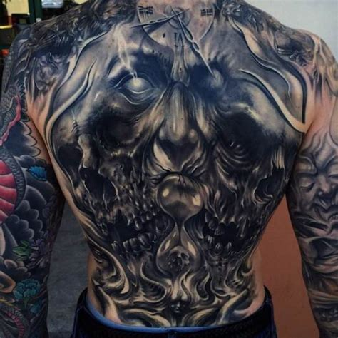 demon back tattoo ideas tattoo designs