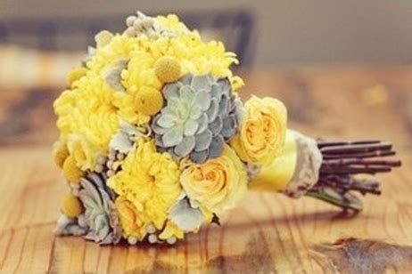 yellow grey chracoal grey and canary yellow wedding all about weddings