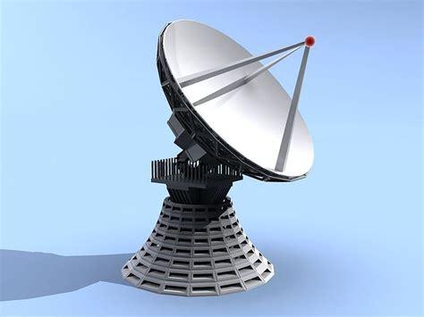 dish antenna  model cgtrader