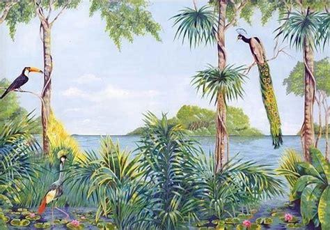 Wall Murals Stencils blue lagoon wall mural tropical wall murals pinterest