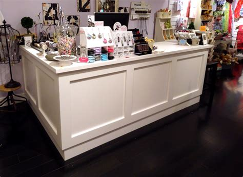 Store Counter Top Custom Specialty Retail Counters Reception Counters