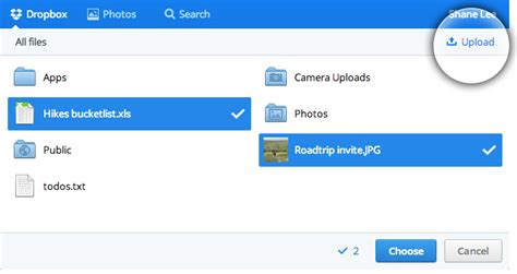 dropbox reddit dropbox revs its chooser feature to include multi