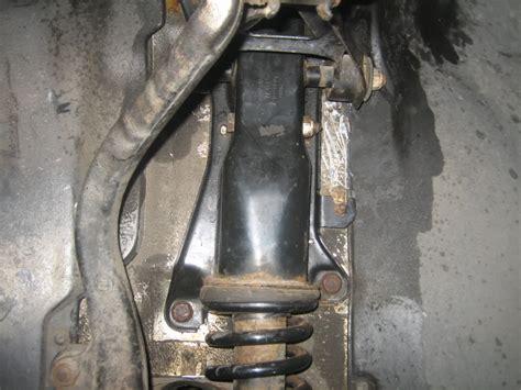 audi rs4 b5 rear suspension mounting brackets