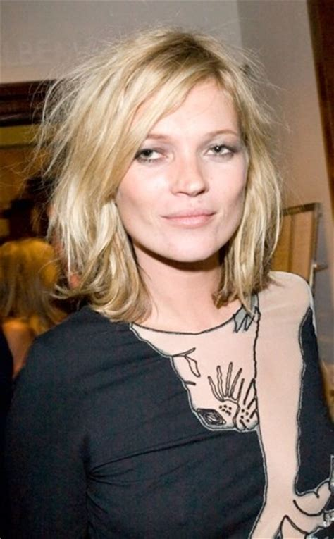 Kate Moss Cuts Bangs Em Or Em by Hair Evolution Kate Moss