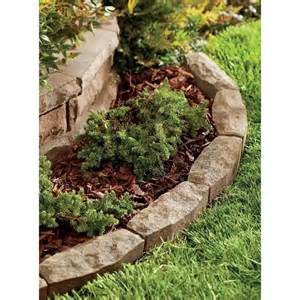 Landscape Edging With Rocks How To Install Landscape Edging Front Yard