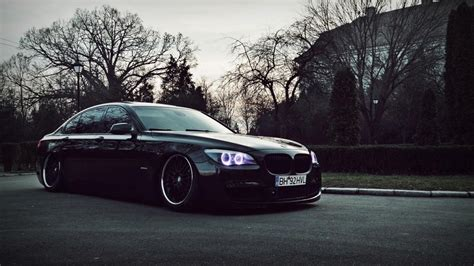 bmw black car wallpaper hd bmw tuning wheels black car hd desktop wallpaper