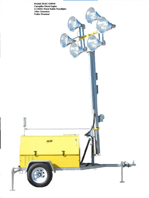 portable sports field lighting portable electric powered 480 volt led or halide