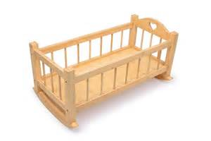 Wooden Rocking Crib new dolls wooden set high chair rocking crib cot bed pram
