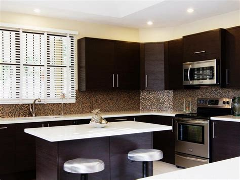 kitchen backsplash ideas for dark cabinets contemporary kitchen backsplash ideas with dark cabinets