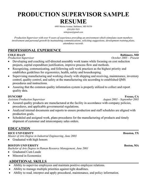 Range Safety Officer Sle Resume by Resume Format For Security Supervisor 28 Images Stunning Safety Manager Resume Unforgettable