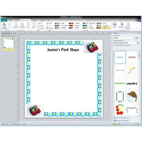 scrapbook templates microsoft word baby scrapbook layouts tips tricks how to make your