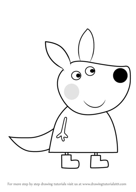 peppa pig drawing templates images templates design ideas