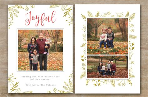 10 Christmas Card Designs Free Premium Templates Free Photo Cards Templates