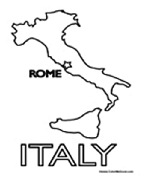 coloring page italy map rome coloring pages roman coloring pages