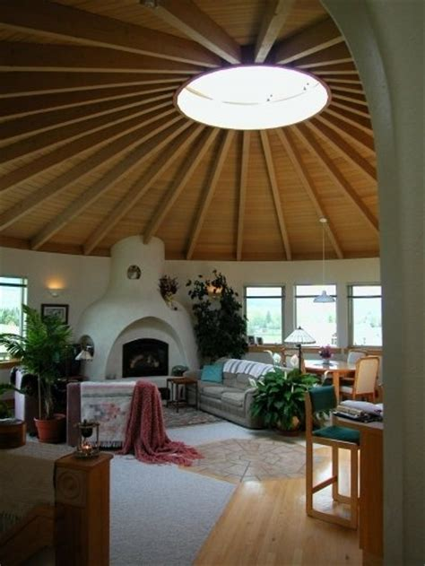 love yurts love the ceiling for the new house pinterest in the