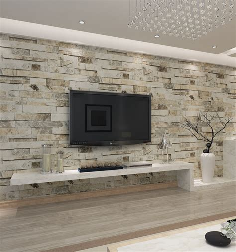 hanmero chinese faux brick wallpaper  effect brick