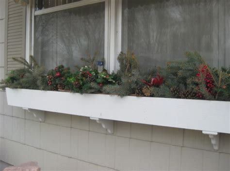 youtube how to decorate a christmas window box 5 ways to decorate with pine boughs