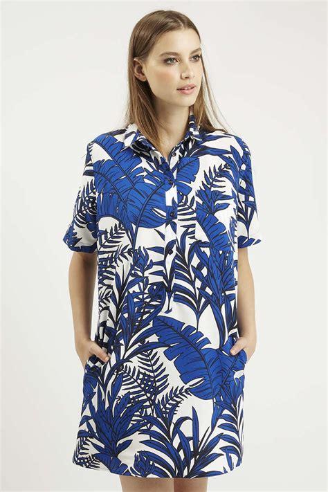 Leaf Print Shirt leaf print shirt dress dresses clothing leaf prints