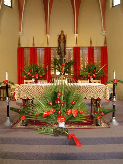 Palm Sunday Decorations Church sacred coshocton