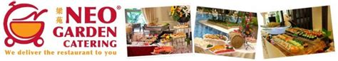 Garden Catering by Neo Garden Catering Menu Prices