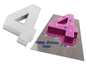 Number 4 Cake Template by Newsletter Templates Cake Ideas And Designs